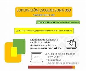 Supervision Escolar 068  Manual Para Ingresar