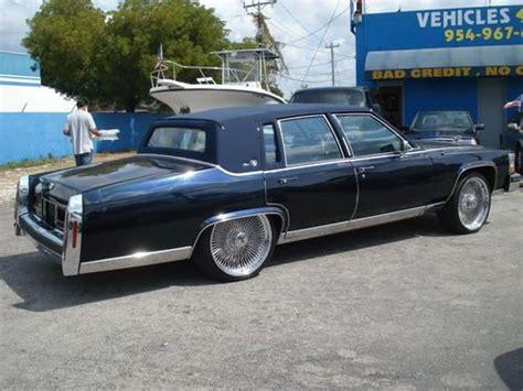 Buy Used 1989' Cadillac Fleetwood Brougham D'elegance