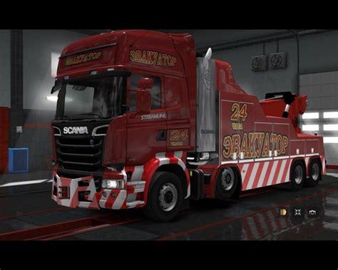 Scania Streamline Tow Truck V10 Truck Mod Euro Truck