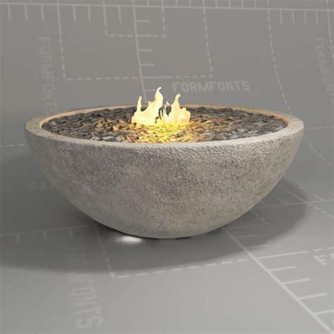 river rock bowl riverrock fire bowl 3d model formfonts 3d models textures
