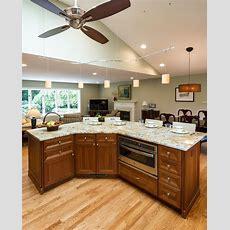 Open Floor Plan Kitchen Renovation In Northern Virginia