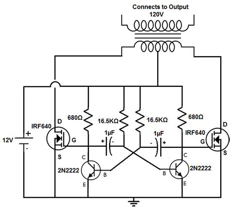 How Build Power Inverter Circuit