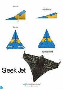 Paper Airplane Instructions U2019 Sleek Jet Paper