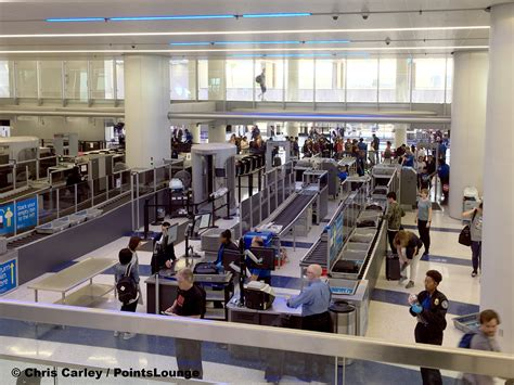 tsa security checkpoint  lax terminal  renes points