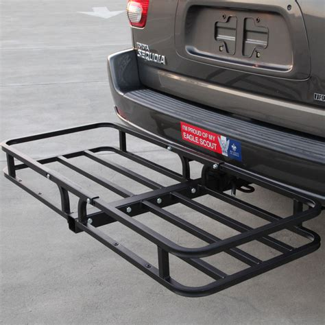trailer hitch rack hitch mounted cargo carrier rooftop carrier in car racks