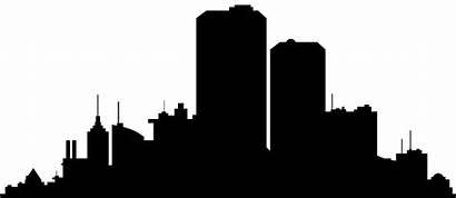 Silhouette Skyline Clipart Clip Transparent York