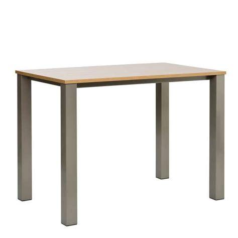 table rectangulaire de cuisine table mange debout de cuisine rectangulaire en stratifié