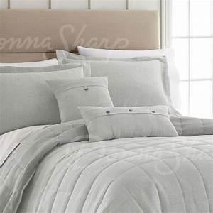 Seafoam, Linen, Bedding, Collection