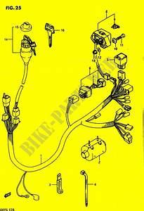 Faisceau Electrique Pour Suzuki Quadrunner 250 1985