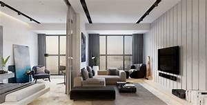 design interieur amenagement petit appartement cloison With design interieur petit appartement