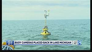 Sign Of Spring  Lake Michigan Buoys Back In The Water