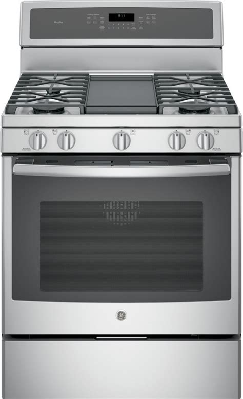 pgbzejss ge profile  freestanding gas convection range stainless steel