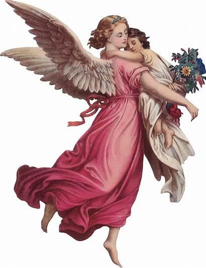 Angel Angels Guardian God Victorian Clipart Transparent