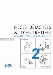 Pieces Detachees Wc Suspendu : catalogue pi ces d tach es n2 lavabos bidets viers robinetterie ~ Dode.kayakingforconservation.com Idées de Décoration