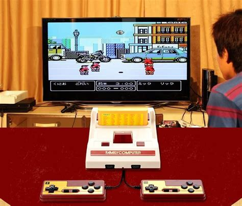 coolbady video game console rs  fc red white classic tv