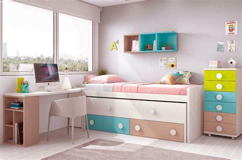 chambre design fille chambre ado design avec lit surlev color et glicerio