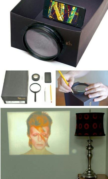diy iphone projector iphone shoebox projector diy get crafty