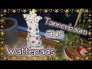 Tannenbaum Selber Basteln : tannenbaum aus wattepads herbst weihnachten dekoration basteln youtube ~ Yasmunasinghe.com Haus und Dekorationen