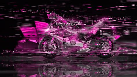 ducati panigale super crystal city art bike  el tony