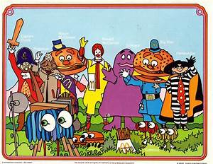 McDonald's Characters | ronald mcdonald and friends ...