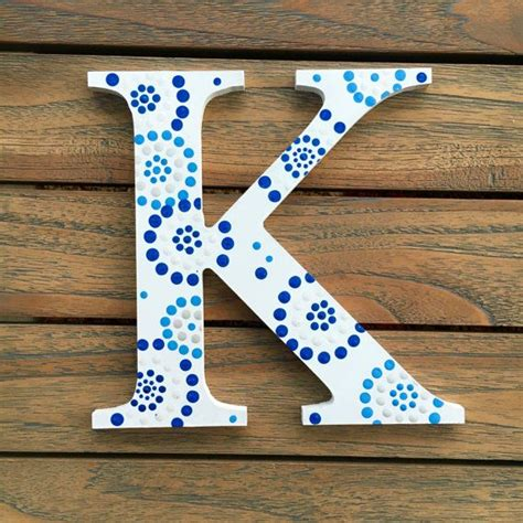painted wooden letters best 25 painted letters ideas on wood letters