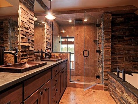 Pics Of Rustic Bathrooms by Best 25 Rustic Master Bathroom Ideas On