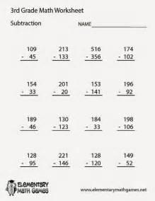 Division Practice Worksheets Free Math Sheets 3rd Grade Homework Subtraction 3rd Grade Math Worksheets Division Math