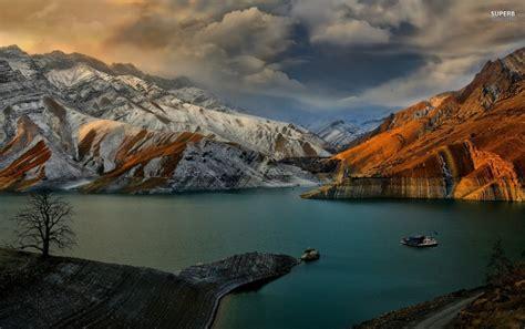 Amir Kabir Dam Iran Wallpapers  Amir Kabir Dam Iran Stock