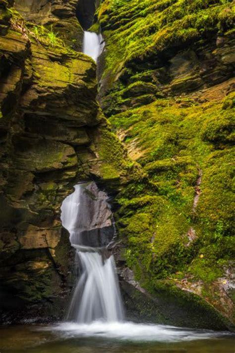 st nectans glen waterfall hermitage cornwall history