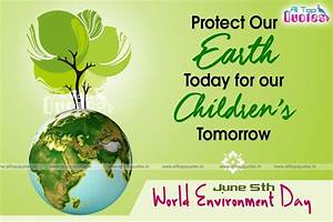 june 5 world environment day telugu quotes posters ...