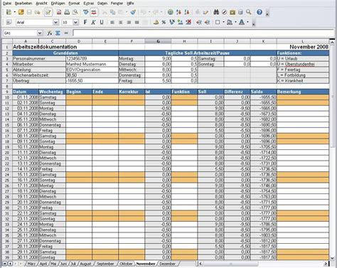 open office arbeitszeitdokumentation heise