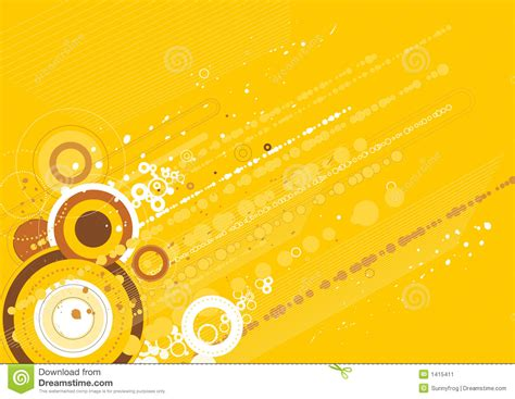 vector yellow background stock image image