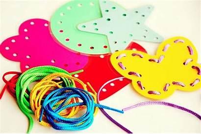 Lacing Cards Diy Preschoolers Shapes Benefits Homemade