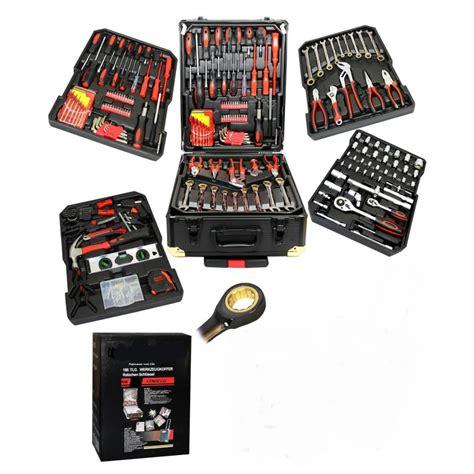 malette de cuisine professionnel malette à outils complète 186 outils