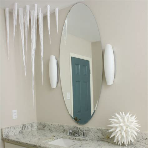 paper icicles  frozen ceiling decoration
