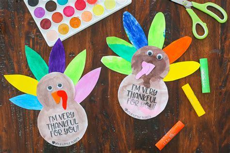 simple thanksgiving turkey kids craft   printable