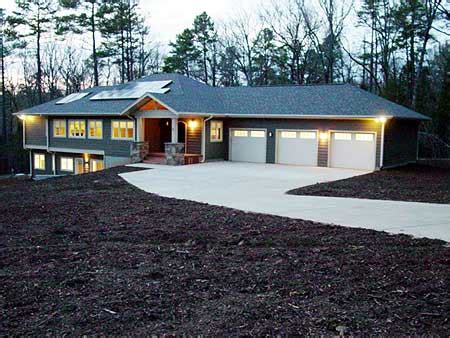simple ranch style homes with walkout basement ideas architectural designs