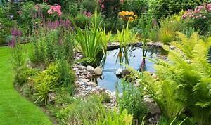 Teich Selber Bauen Mit Folie Teich Mit Bachlauf Im Garten Anlegen