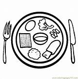 Coloring Meal Passover Meals Ready Coloringpages101 sketch template