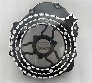 Custom Black  Silver Ball Cut Hayabusa Gsxr 600  750  1000