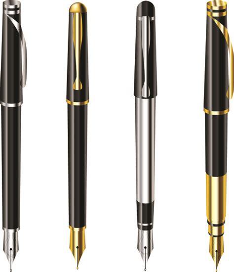 different realistic pen design vector set free vector in encapsulated postscript eps eps