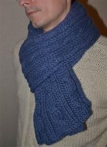 Echarpe Homme Tricot : comment tricoter une belle echarpe ~ Melissatoandfro.com Idées de Décoration