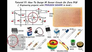 How To Design Ir Circuit On Zero Pcb Using Lm358