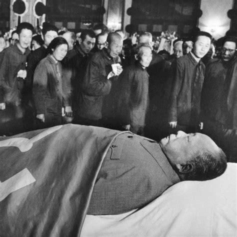 chairman mao zedong dies abc news australian