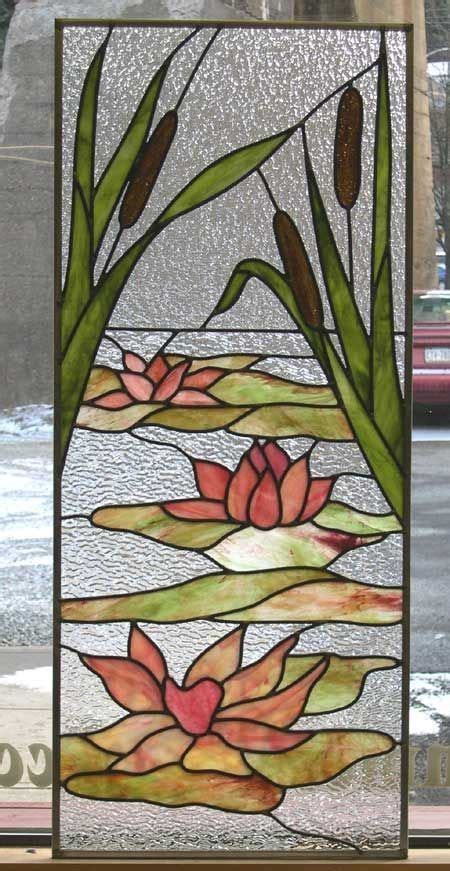 Williams Lotus Stained Glass  Stained Glass Pinterest