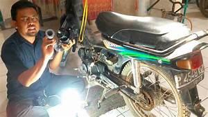 Genset Listrik Tenaga Sepeda Motor