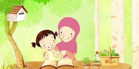 anime islami romantis gambar animasi kartun islami lucu gambar kata kata