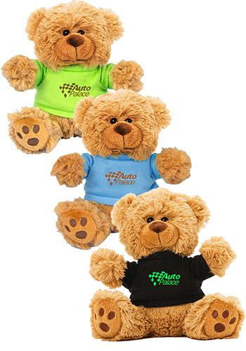 personalized   plush teddy bear  color  shirt