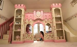 Deco Chambre Fille Princesse : deco pour chambre fille princesse ~ Teatrodelosmanantiales.com Idées de Décoration