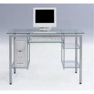meuble bureau verre bureau verre trempé achat vente bureau bureau verre